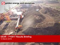 FY2017 Results Presentation